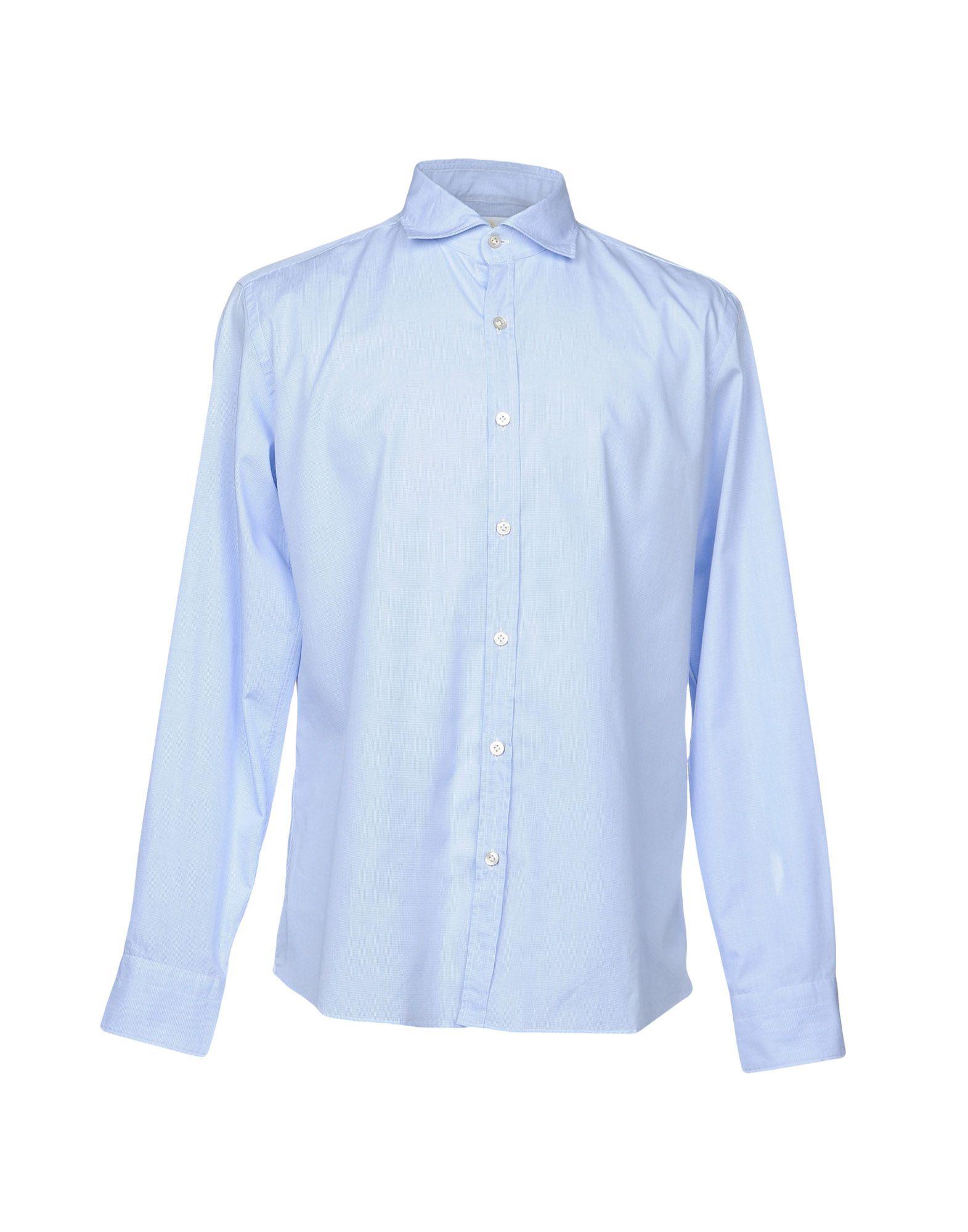 Camicia Tinta Unita Unita Tinta Giannetto Uomo - 38694437MT a74f16