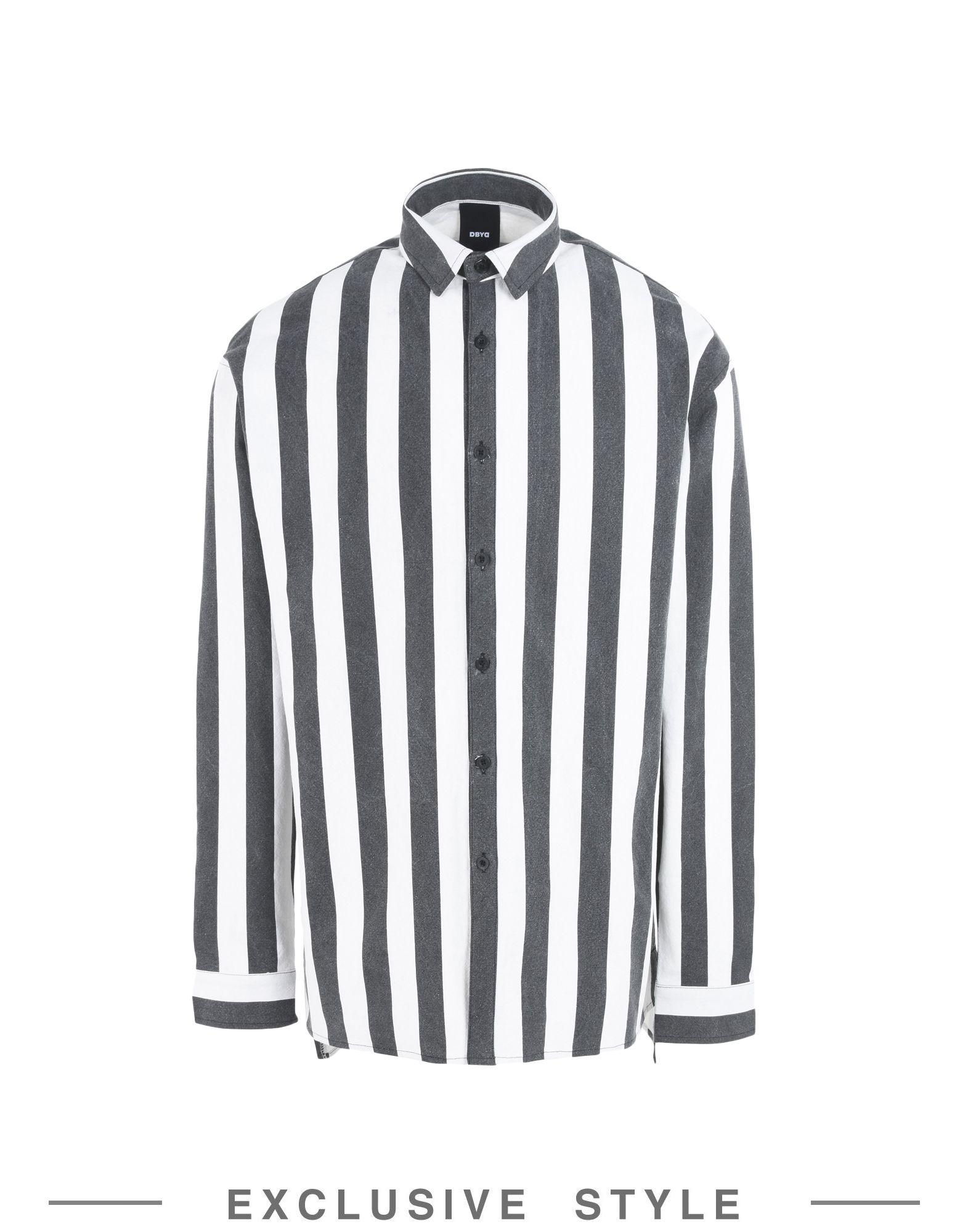 Camicia A Righe Dbyd X Yoox Uomo - Acquista online su