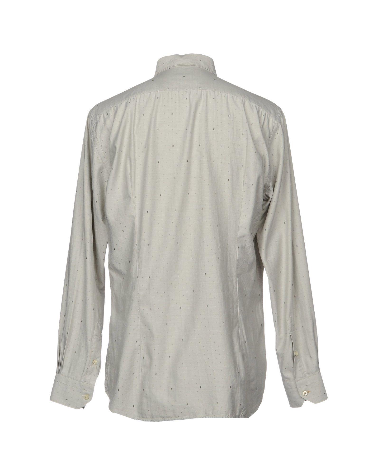 Camicia Tinta Tinta Camicia Unita Fendi Uomo - 38695459HB 8c3c6c