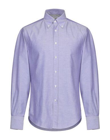 BRUNELLO CUCINELLI - Solid color shirt