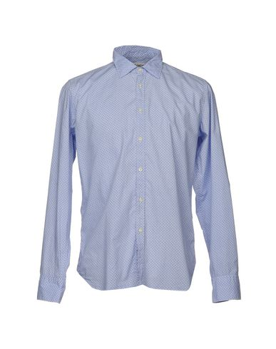 BEVILACQUA Patterned Shirt in Sky Blue