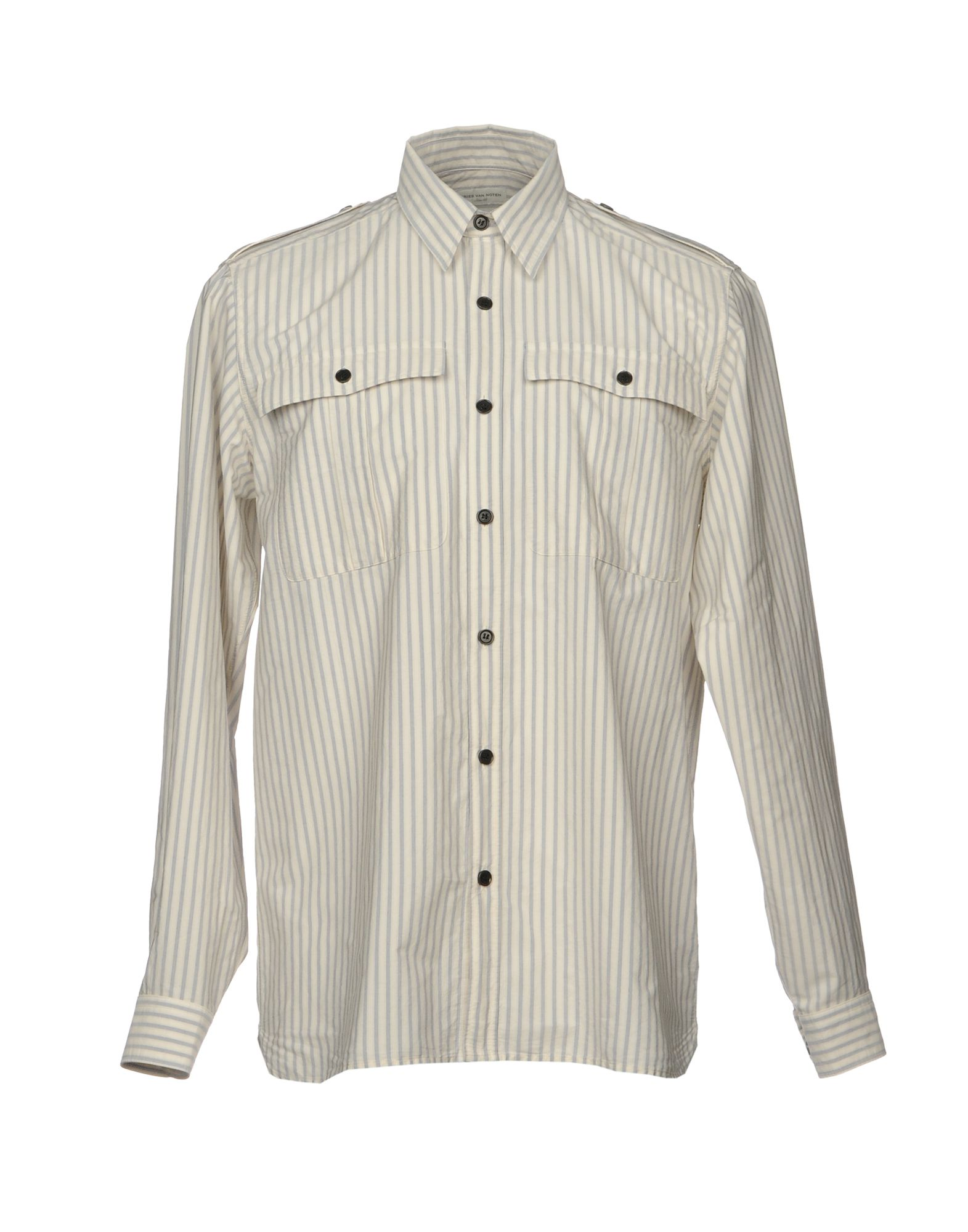 Camicia A Righe Dries Van Noten Uomo - Acquista online su