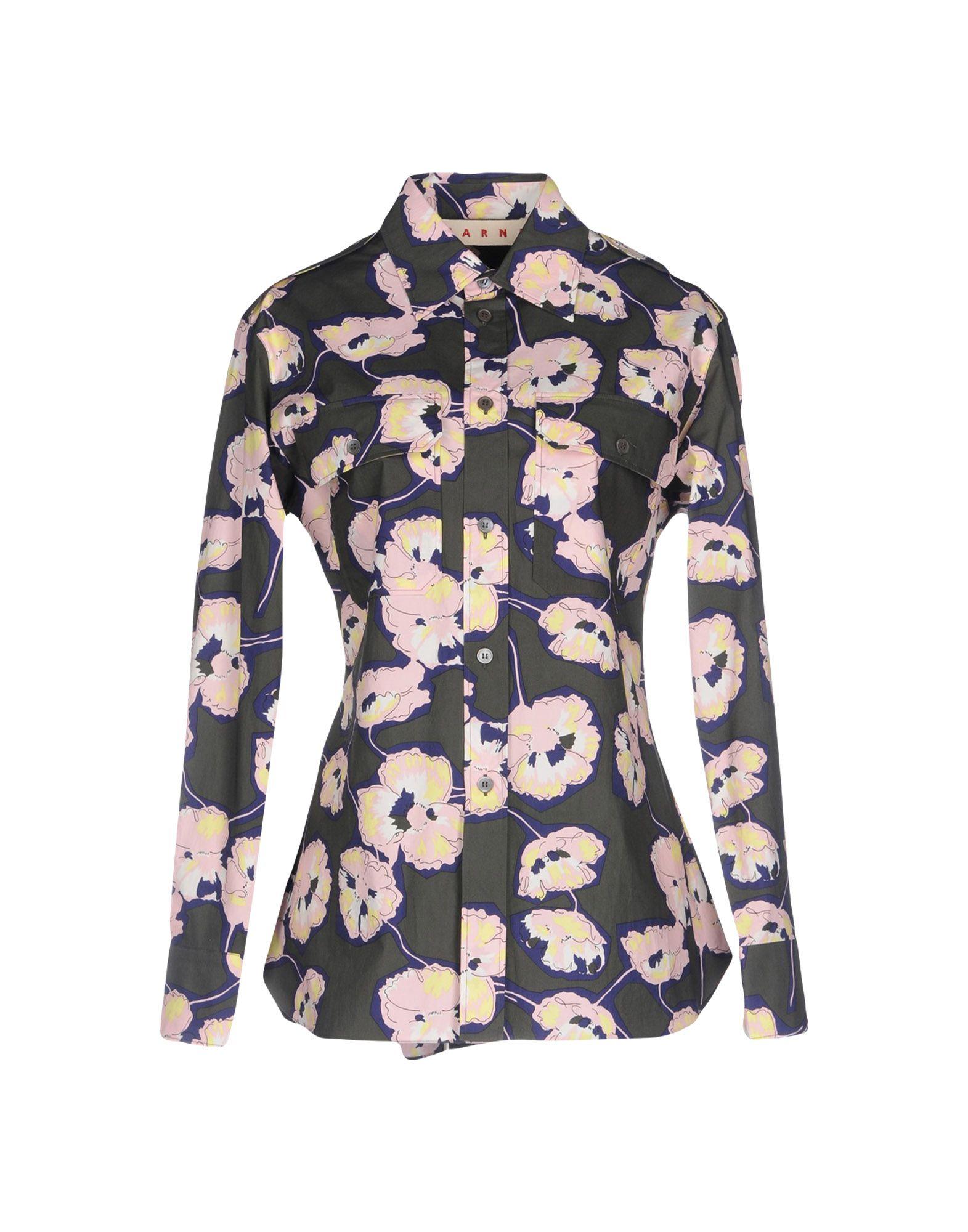 Camicie E Blause A Fiori Marni damen - 38695716RF