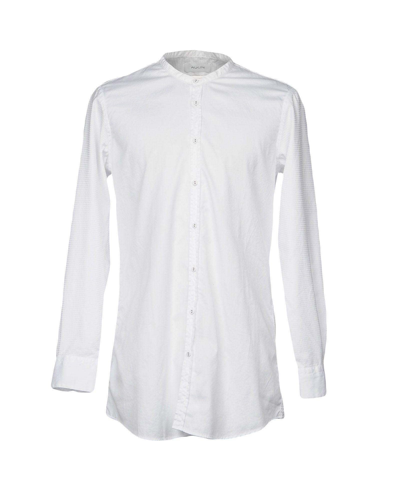 Camicia Tinta Unita Aglini herren - 38695954CR