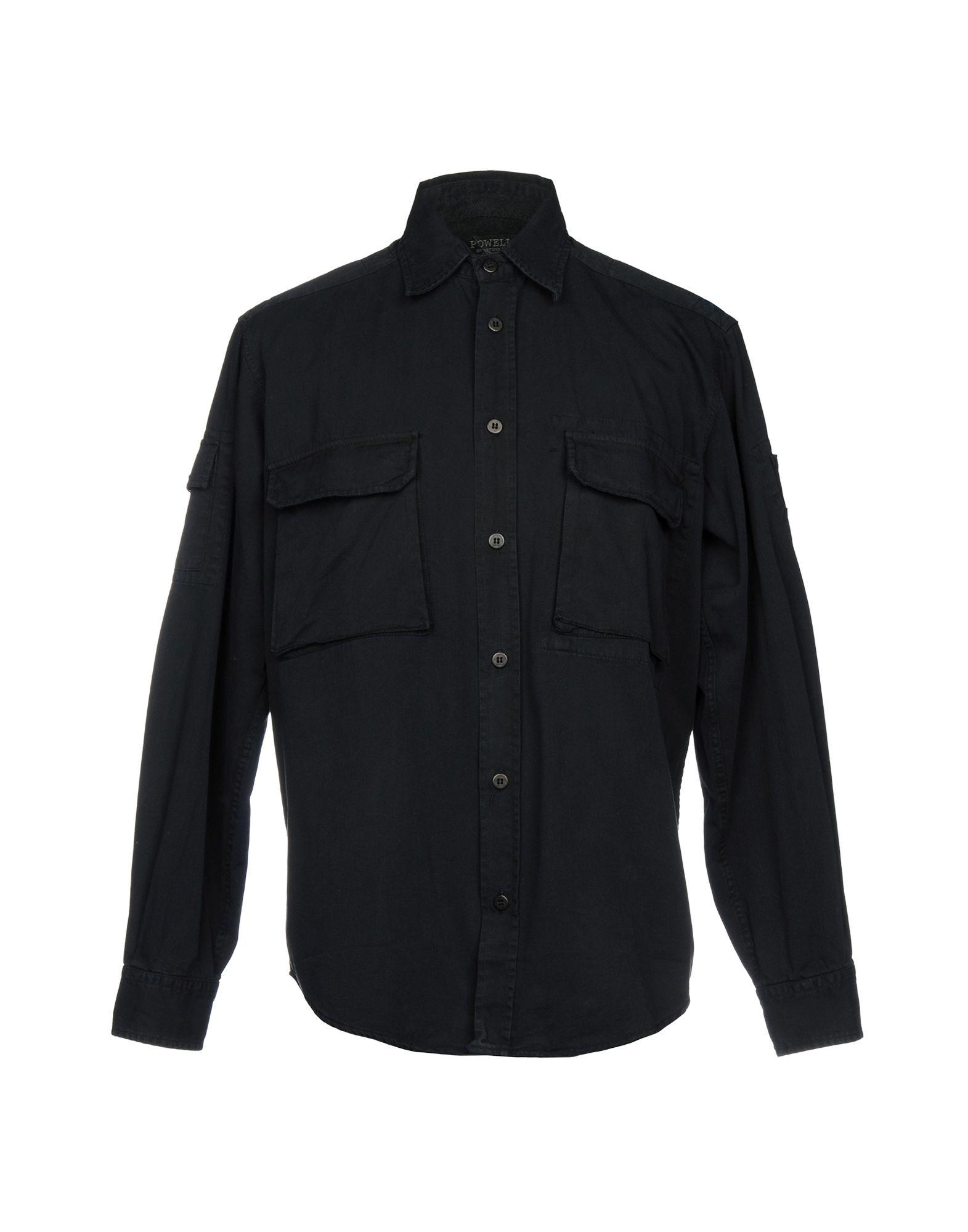 Camicia Tinta Unita Powell herren - 38695967TR