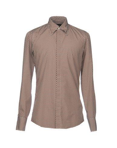 klaring autentisk utløp utmerket Trykt Skjorte Dsquared2 billig forsyning uX1XQKr