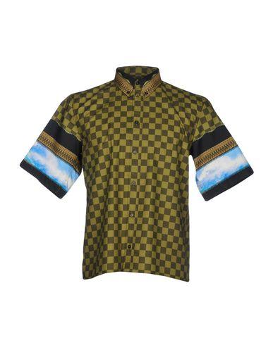 Rutete Skjorte Givenchy wiki billig online billige bilder 0bUyi