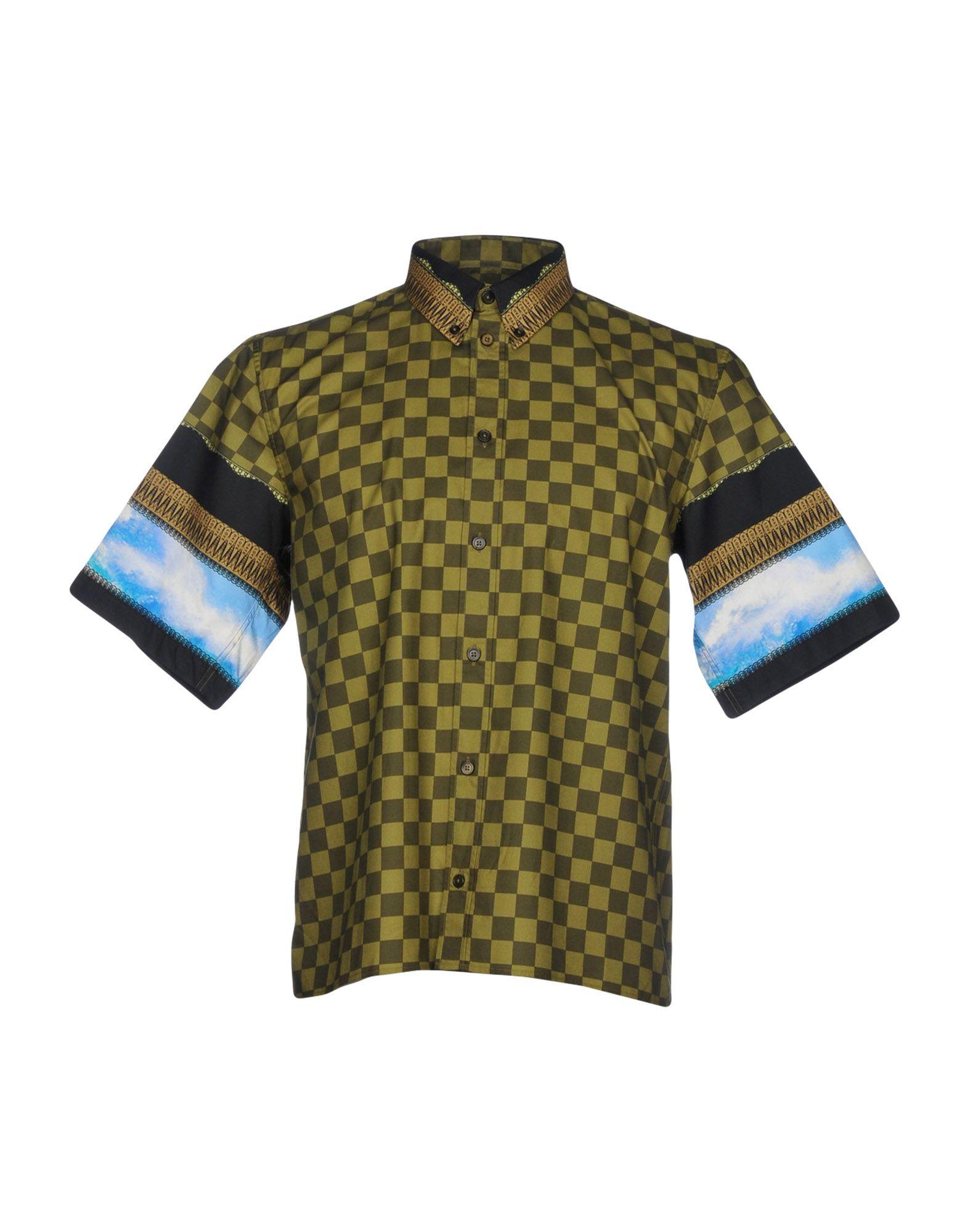 Camicia A Quadri Givenchy Uomo - Acquista online su