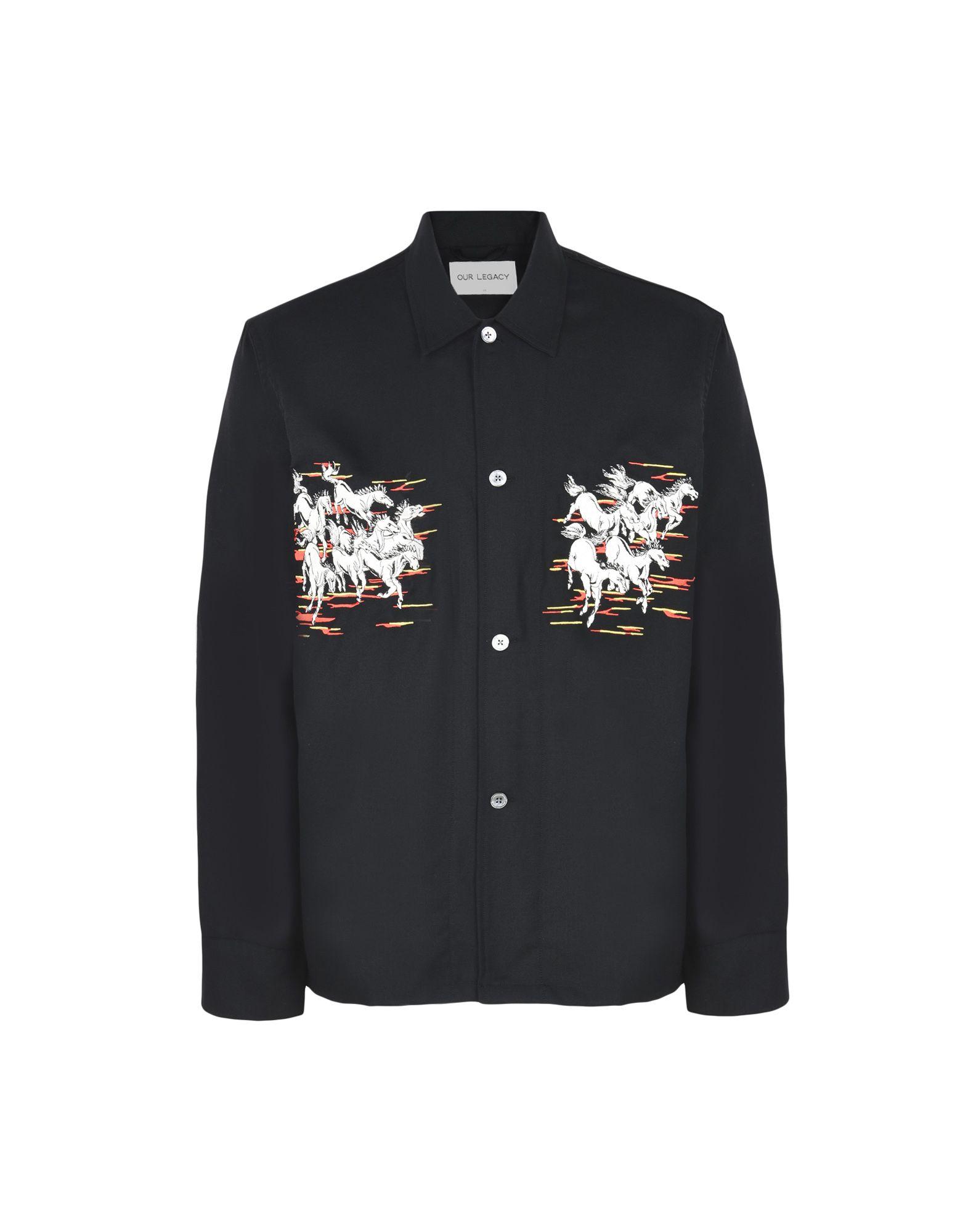 Camicia Tinta Unita Our Legacy Uomo - Acquista online su YOOX - 38696731AH