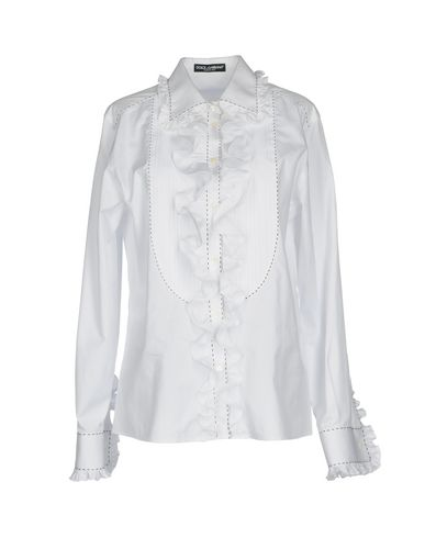 DOLCE & GABBANA - Solid colour shirts & blouses