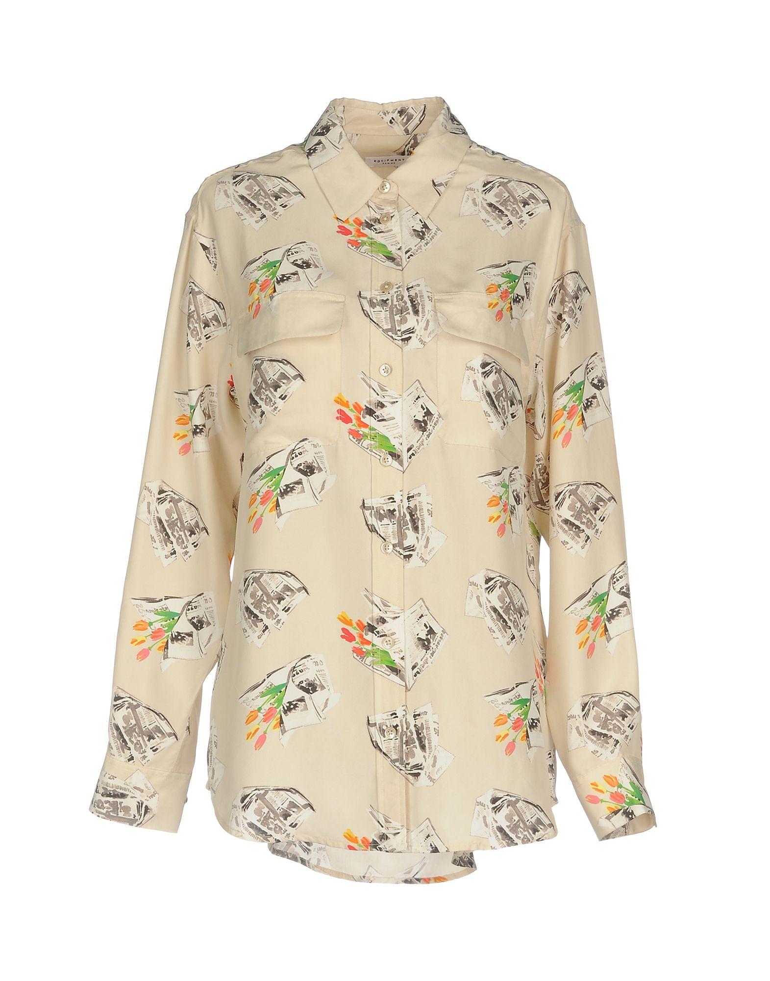 Camicie E Bluse A Fiori Equipment Donna - Acquista online su SPq8T