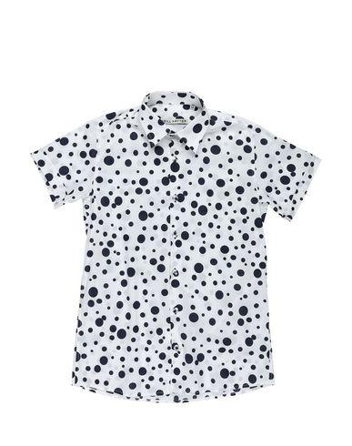 NEILL KATTER柄入りシャツ