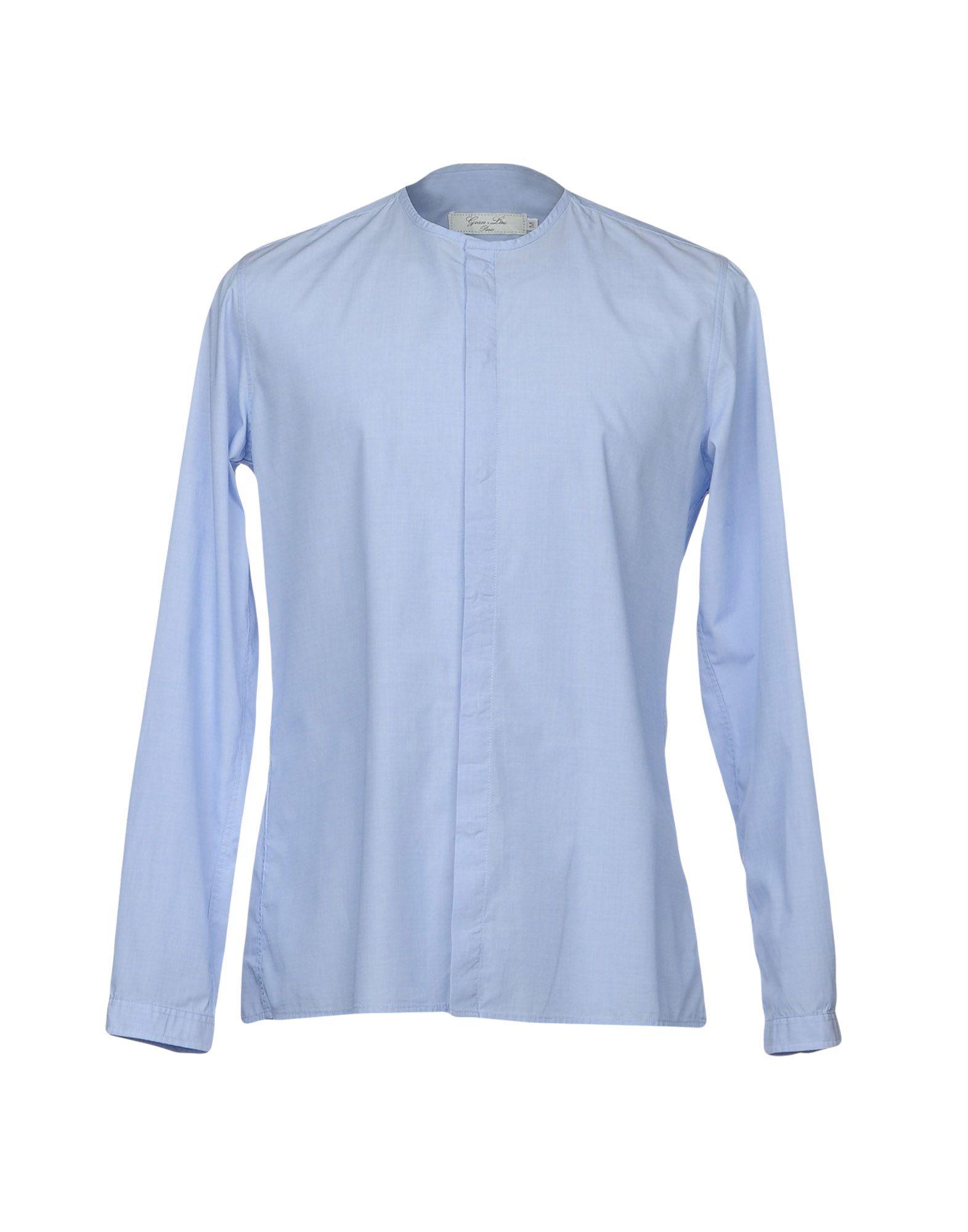 Camicia Tinta Unita Uomo Gean.Luc Uomo Unita - 38697311LK e8a8c9