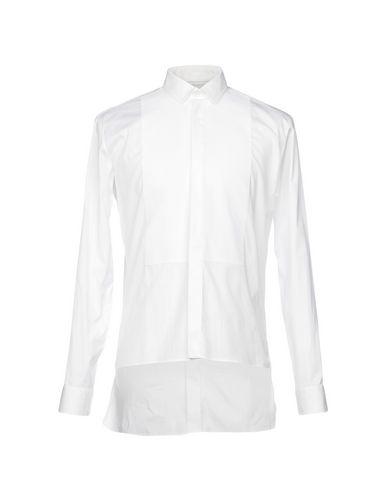 LES HOMMES Einfarbiges Hemd