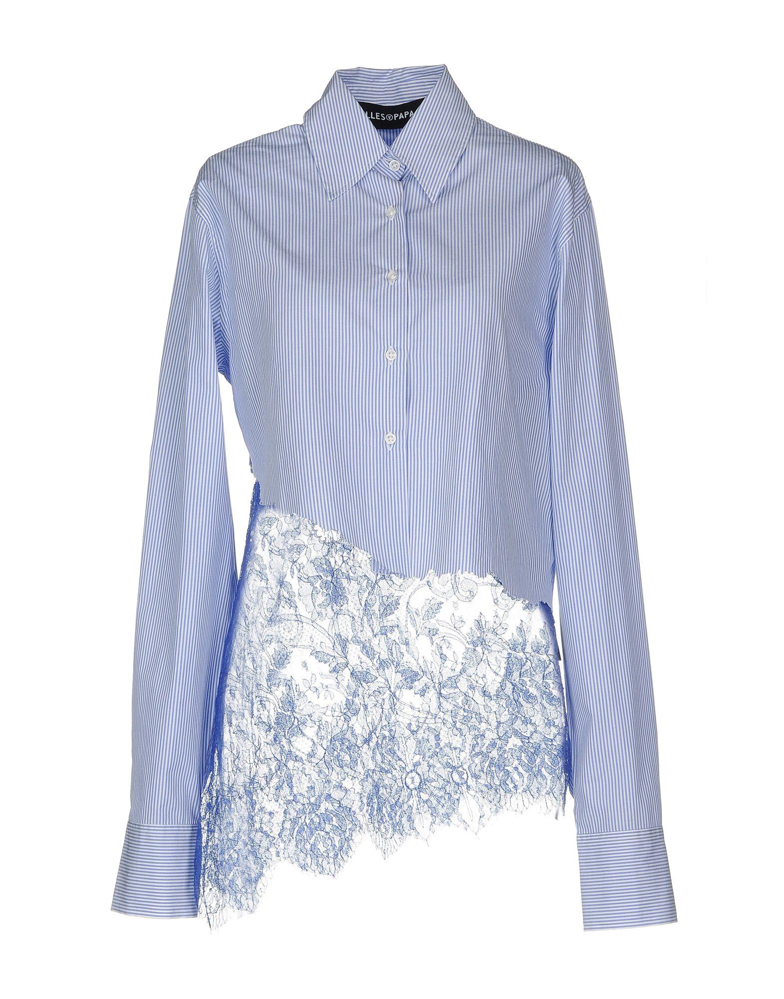 Camicia A Righe Fap Filles A Papa Donna - Acquista online su 3jgliL