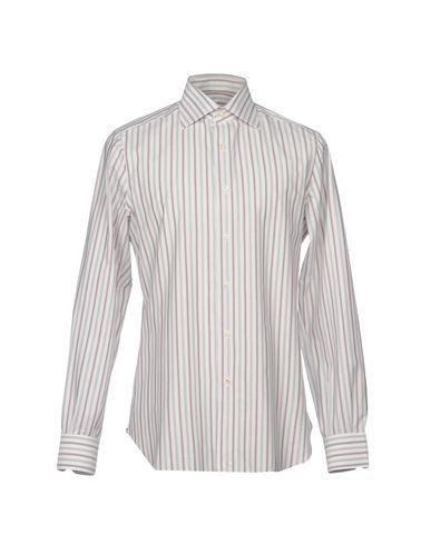 Isaia Stripete Skjorter kjøpe billig view r7fNwa0