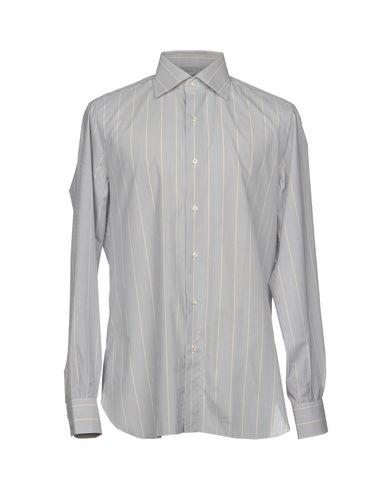 Isaia Stripete Skjorter gratis frakt rabatter til salgs eksklusive online klaring billig online bestille billige online mE0ZEBo