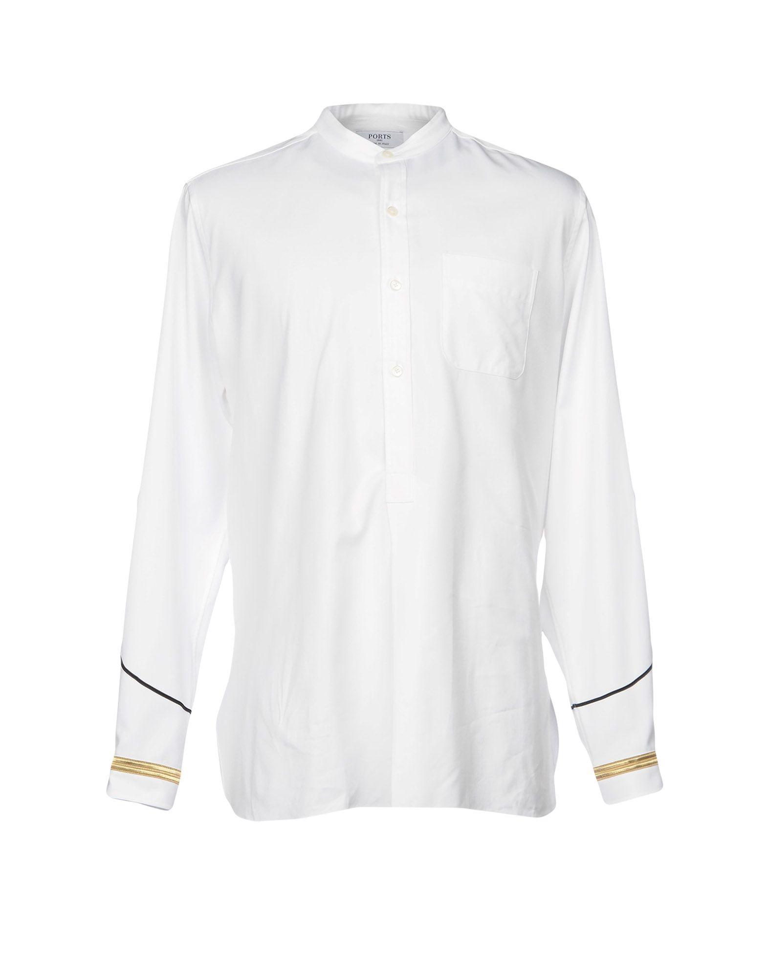 SOLD OUT         Camicia Tinta Unita Ports 1961 Uomo - Acquista online su