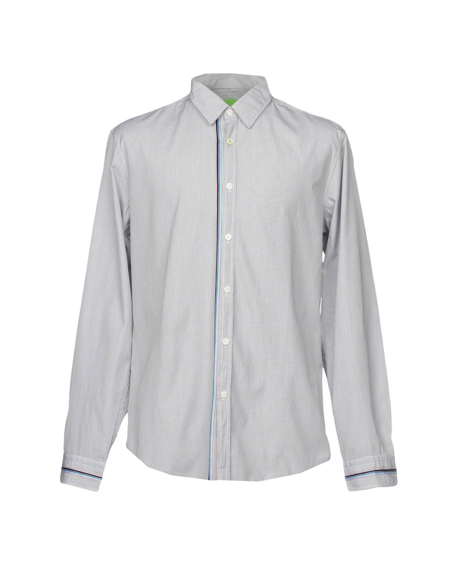 Camicia A Righe Boss verde Uomo - - - 38700122WM 42124b