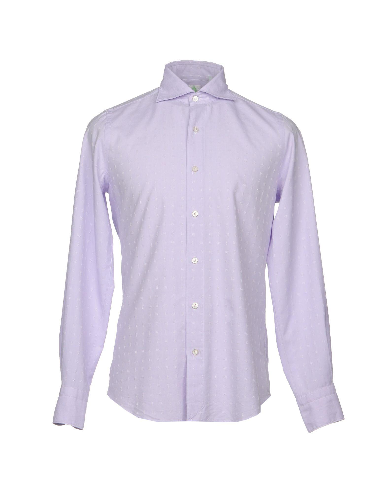 Camicia Tinta Unita Finamore 1925 Uomo - Acquista online su