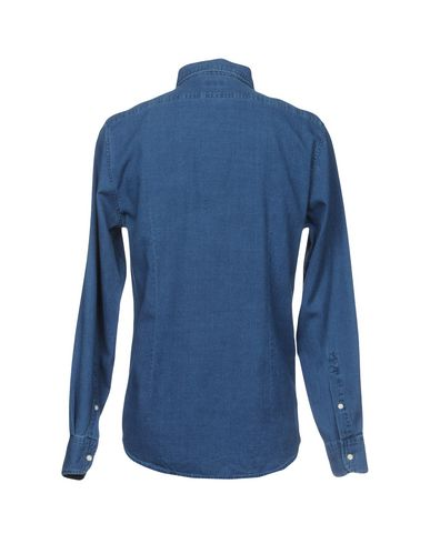 DEPERLU Einfarbiges Hemd