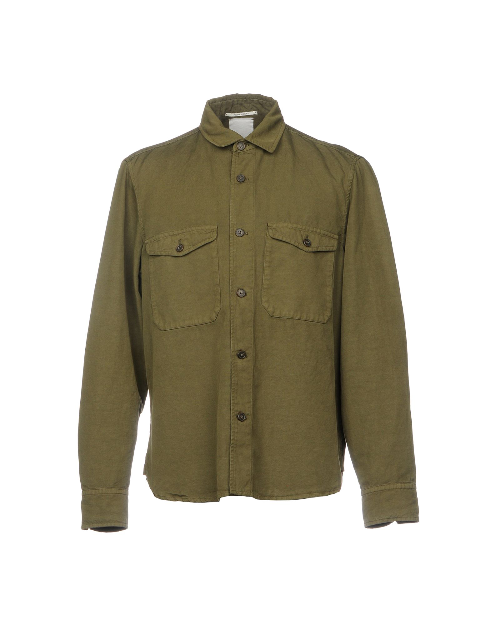Camicia Tinta Unita Pomandère Uomo - Acquista online su
