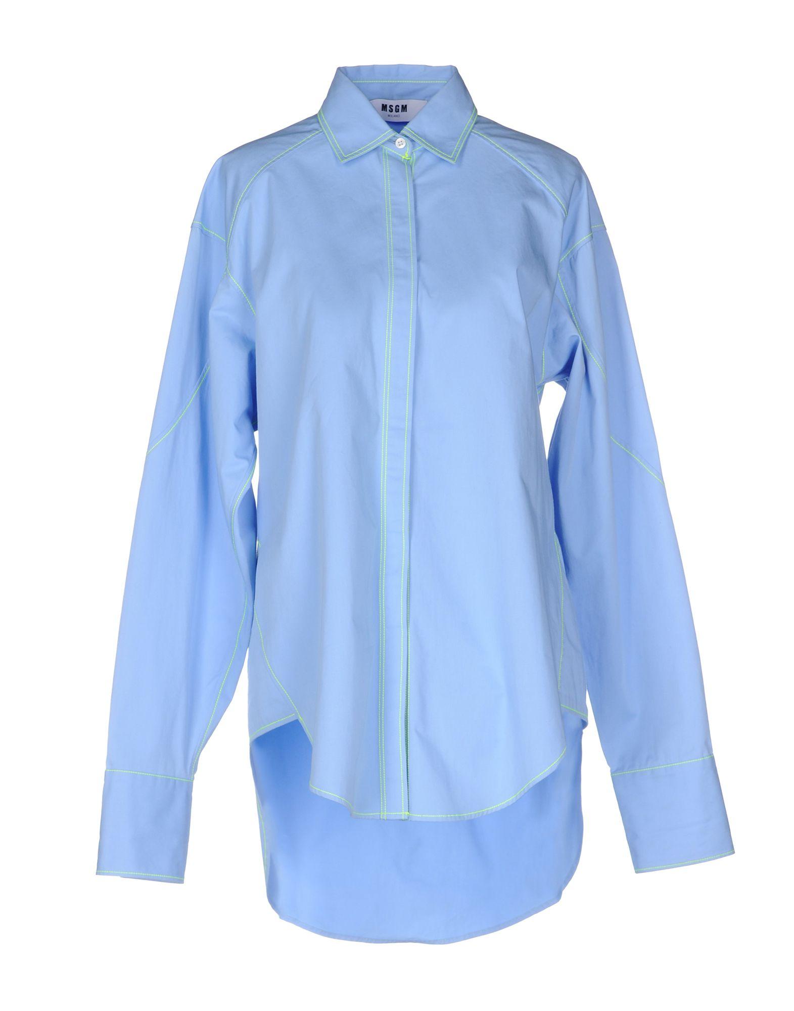 Camicie E Bluse Tinta Unita Msgm Donna - Acquista online su QJiVZFgTE