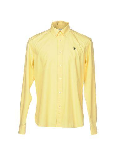 U.S.POLO ASSN. Einfarbiges Hemd