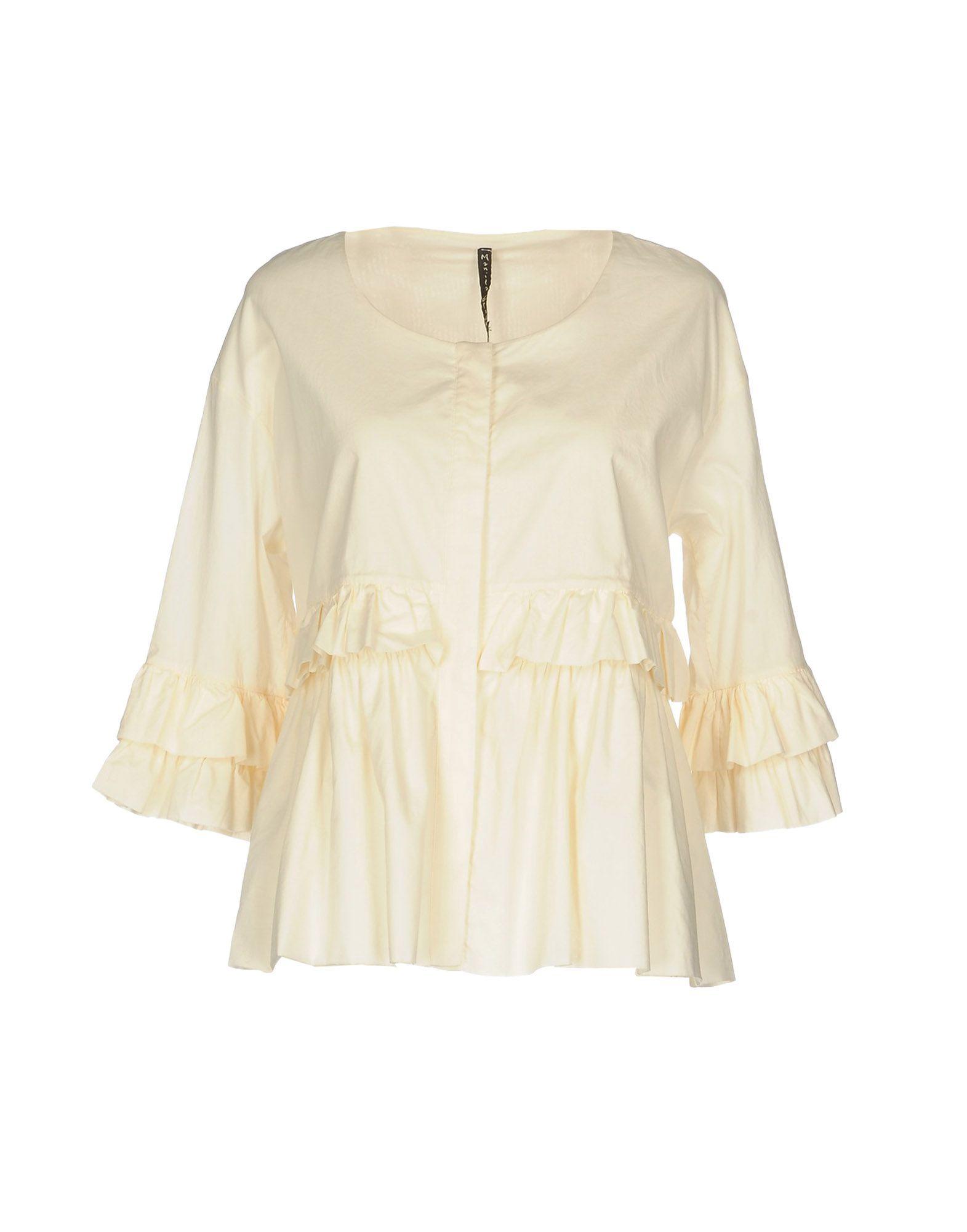 Camicie E Blause Tinta Unita Manila Grace damen - 38700967NS