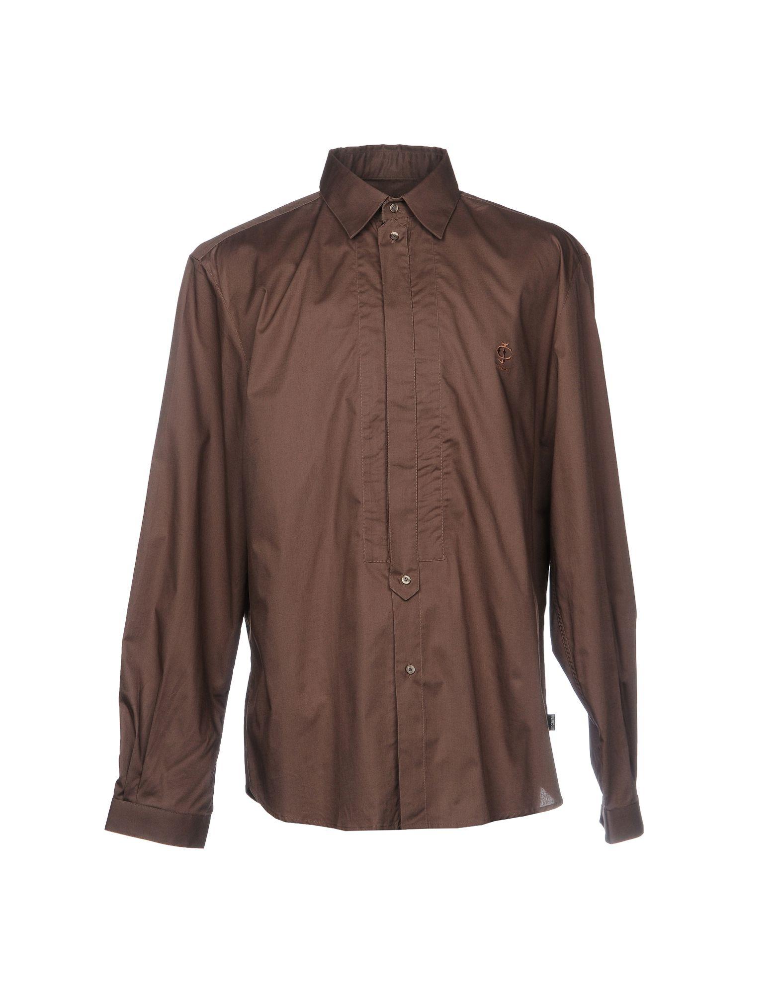Camicia Tinta Unita Just Cavalli Uomo - Acquista online su