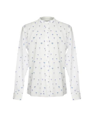 Outlet Brandneue Unisex PAOLO PECORA Hemd mit Muster Klassisch Günstiger Preis lTq4P