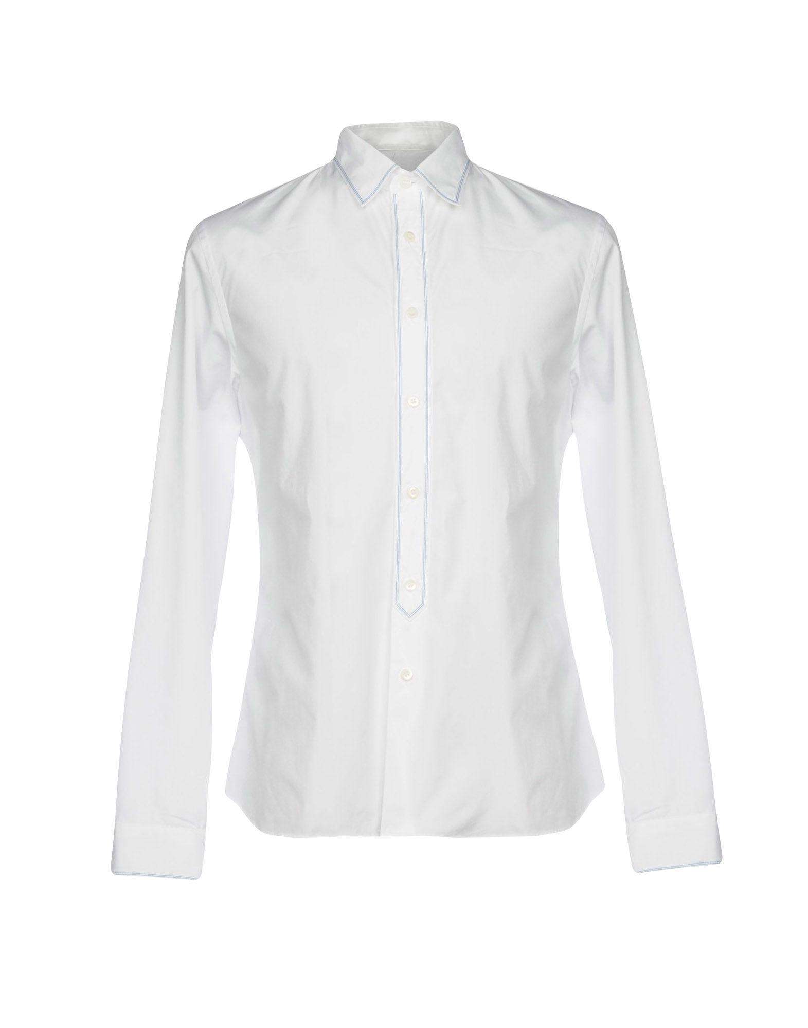 Camicia Tinta Unita Prada Uomo - Acquista online su