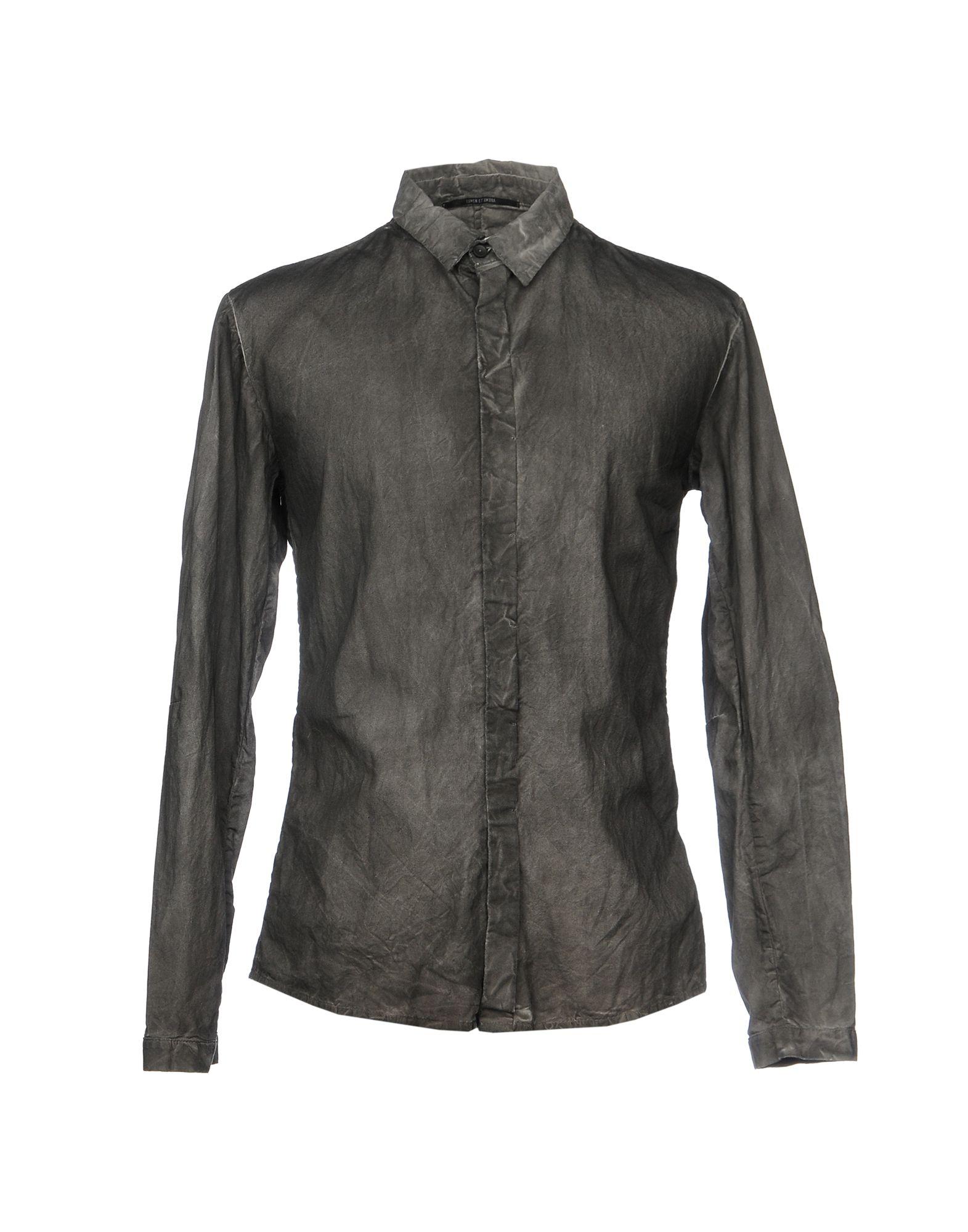 Camicia Tinta Unita Lumen Et Umbra Uomo - Acquista online su