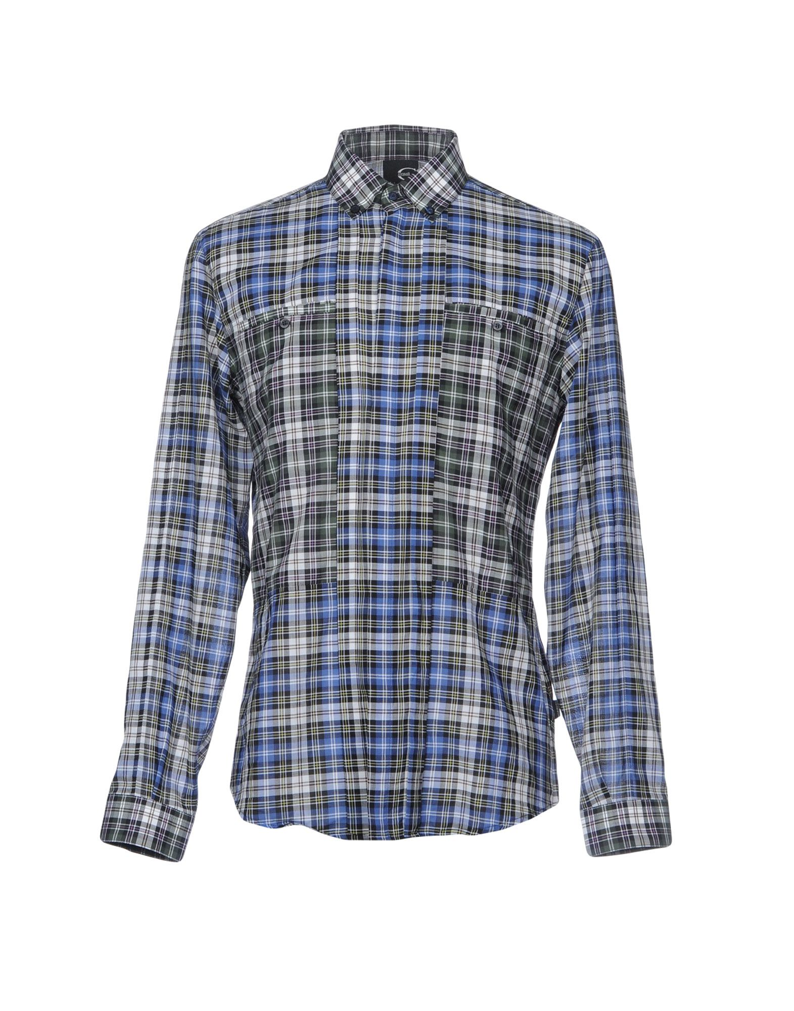 Camicia A Quadri Just Cavalli Uomo - Acquista online su