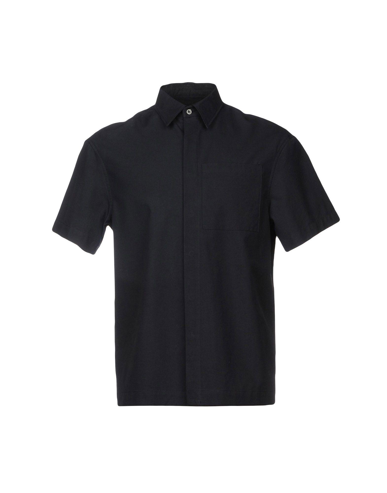 Camicia Tinta Unita Maison Flâneur Uomo - Acquista online su
