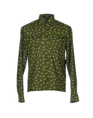 35ee2d2de10 Camisa Estampada Prada Hombre - Camisas Estampadas Prada en YOOX ...