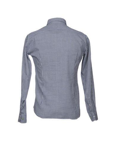 0575 Av Inghirami Rutete Skjorte gratis frakt forsyning klaring bla GdmRB