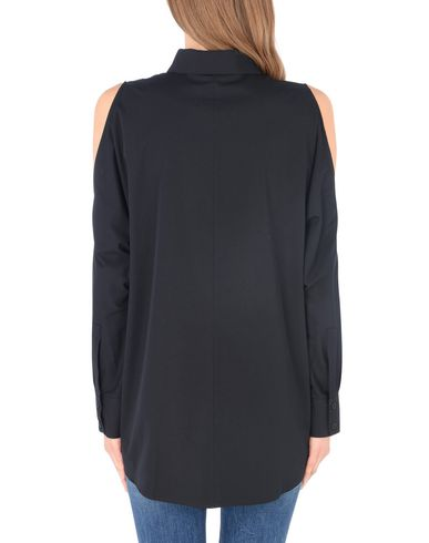 DKNY L/S COLD SHOULDER BTN THRU TOP Camisas y blusas lisas
