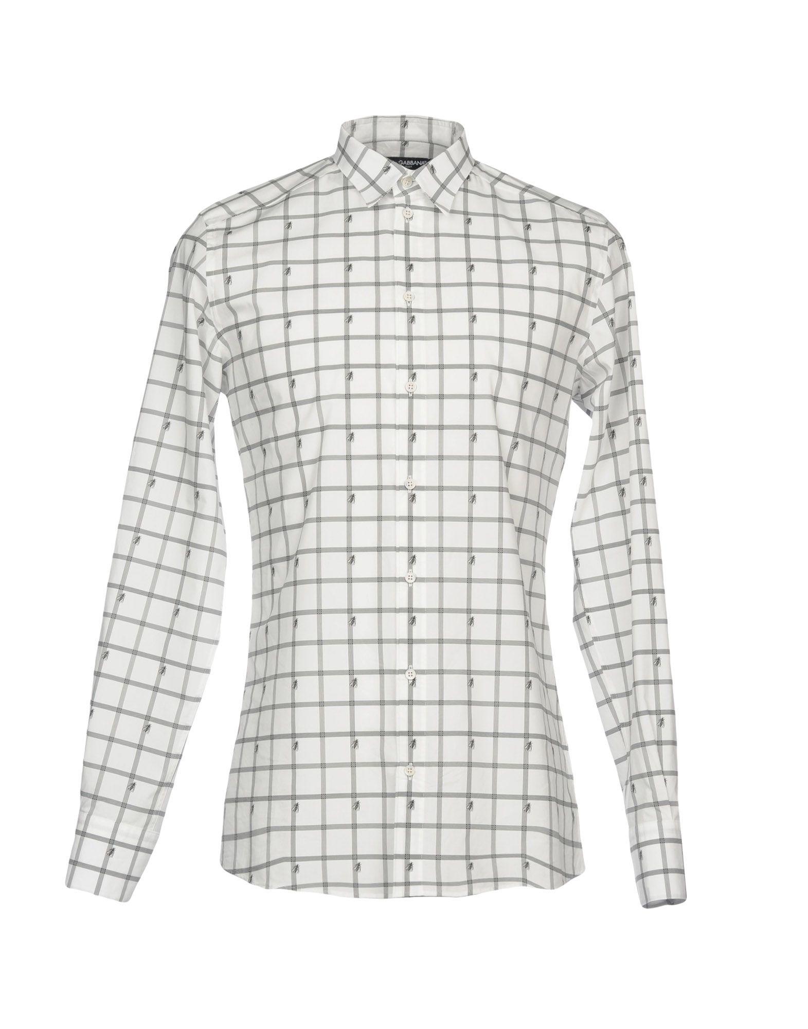 Camicia A Quadri Dolce & Gabbana Uomo - Acquista online su