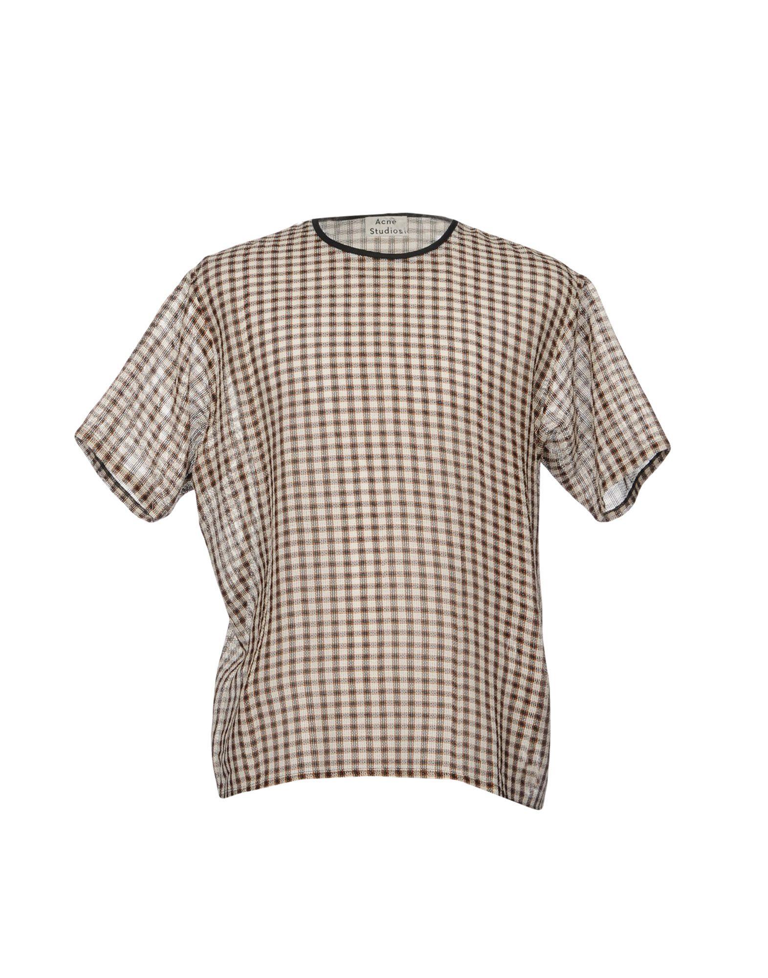 Camicia A Quadri Acne Studios Uomo - Acquista online su