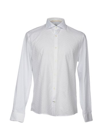 DOUBLE EIGHT Einfarbiges Hemd Spielraum Billig bcIJXWm