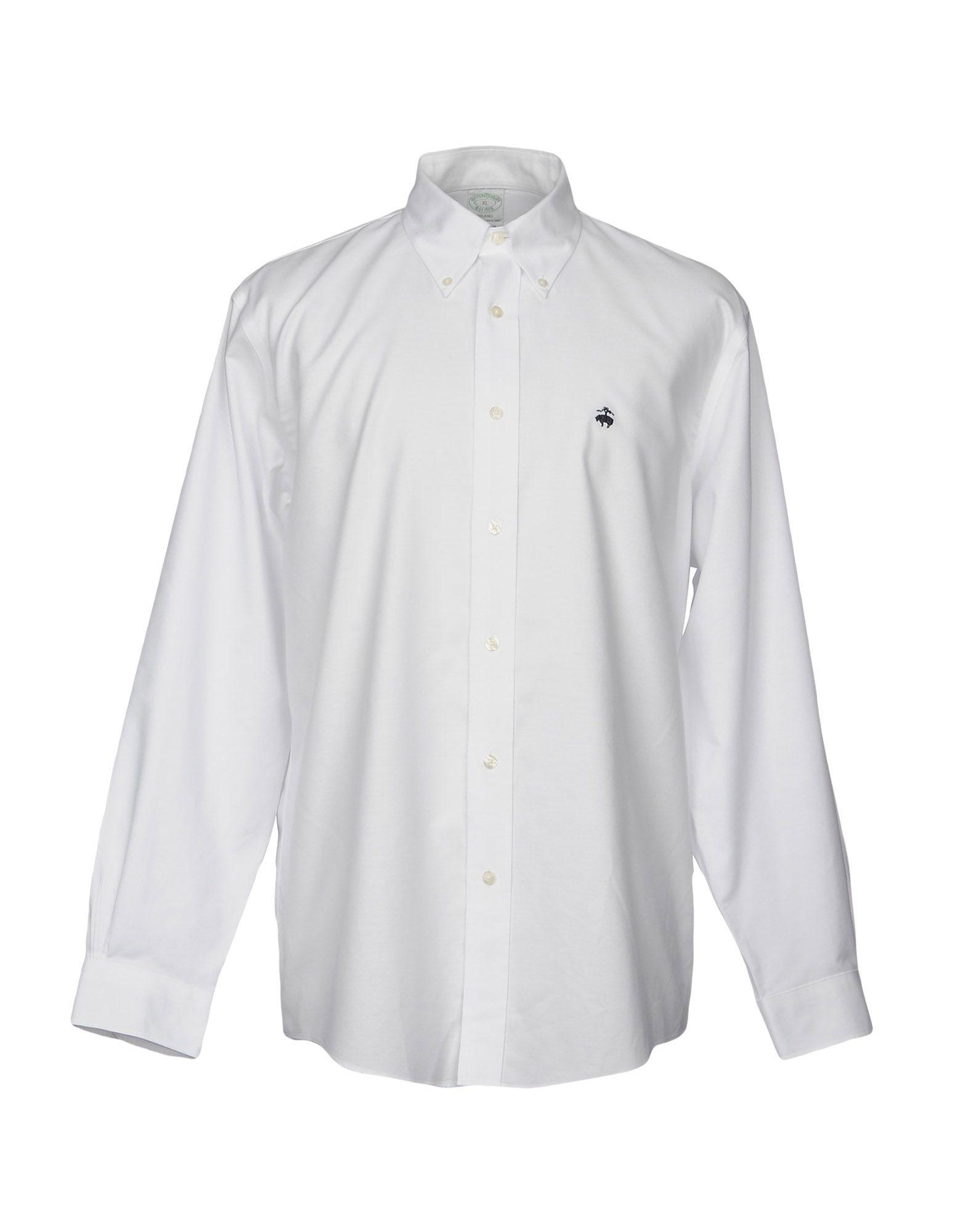 Camicia Tinta Unita Brooks Brothers Uomo - Acquista online su