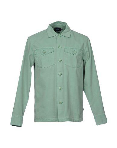 Stussy Camisa Lisa salg perfekt billig salg utsikt Wzu4AW5