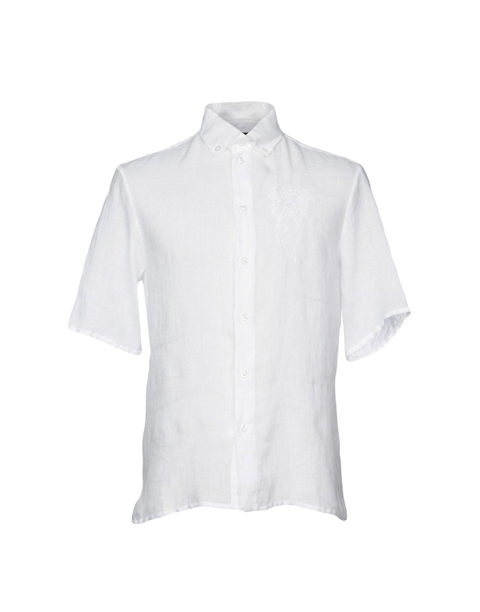 Camicia In Lino Emporio Armani Uomo - Acquista online su