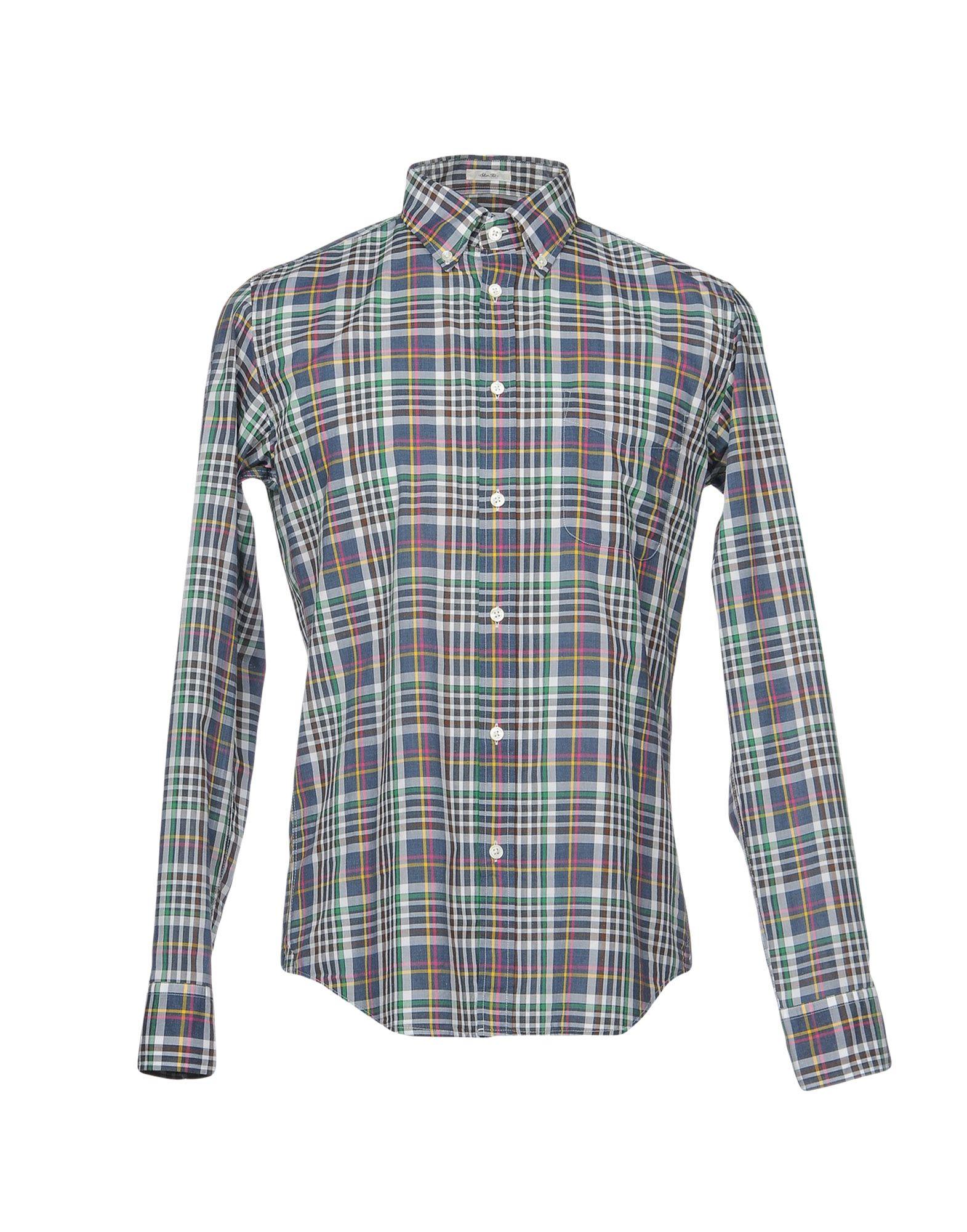 Camicia Quadri A Quadri Camicia Hartford Uomo - 38705126IE 5ee7c7