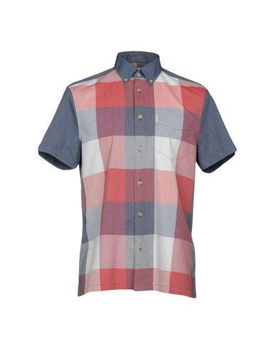 BEN SHERMAN Camisa de cuadros
