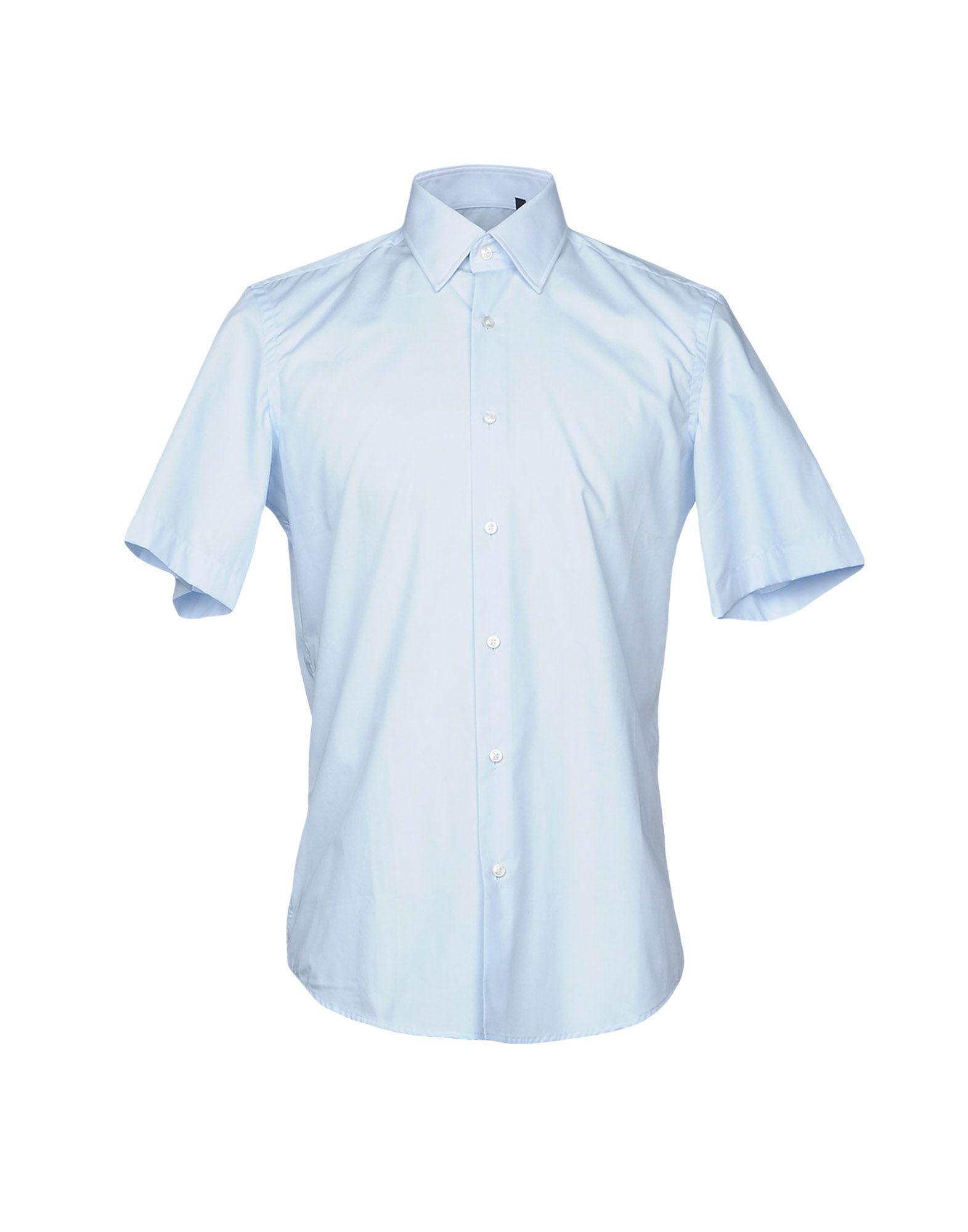 Camicia Tinta Unita Boss Black Uomo - Acquista online su