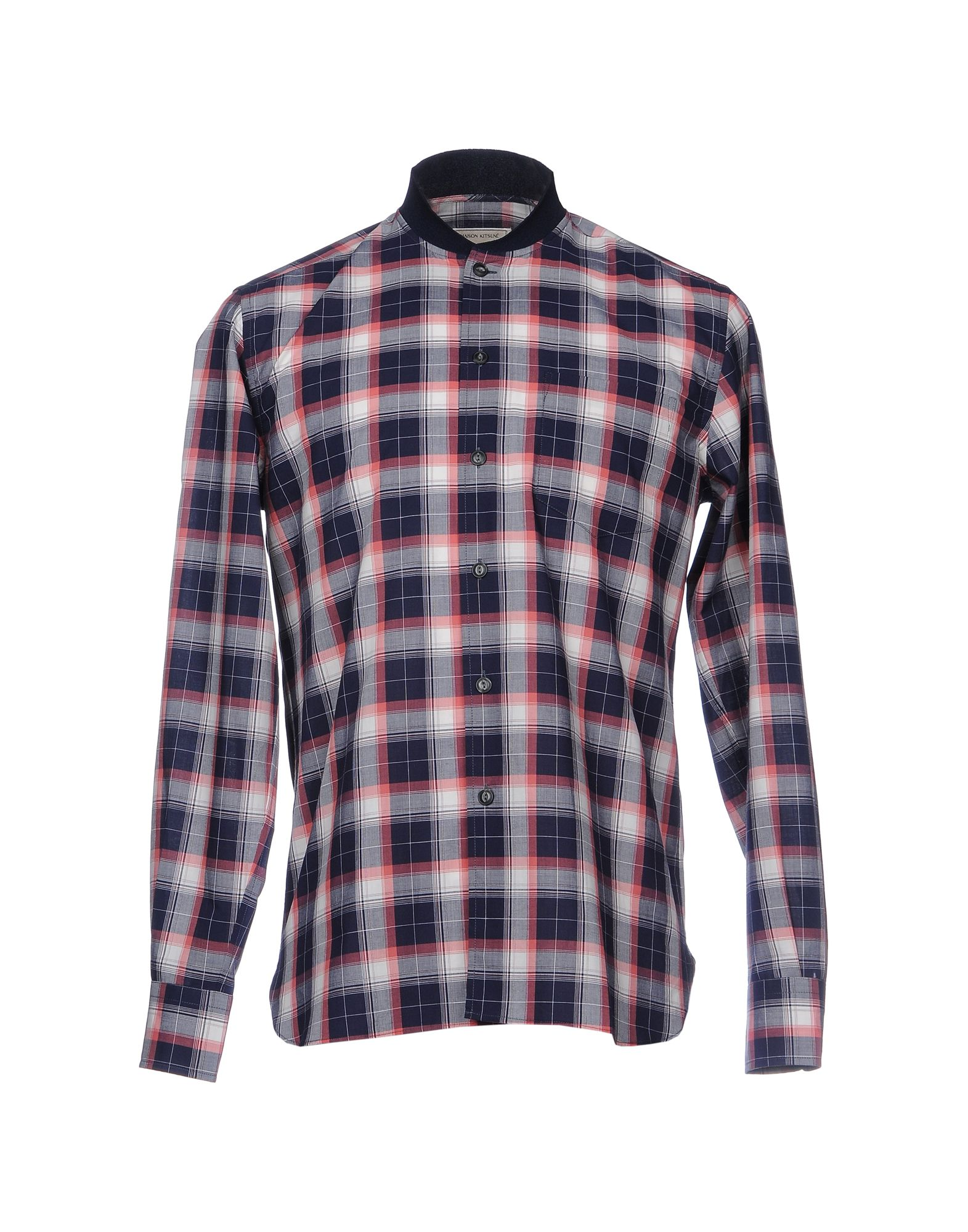 Camicia A Quadri Maison Kitsuné Uomo - Acquista online su