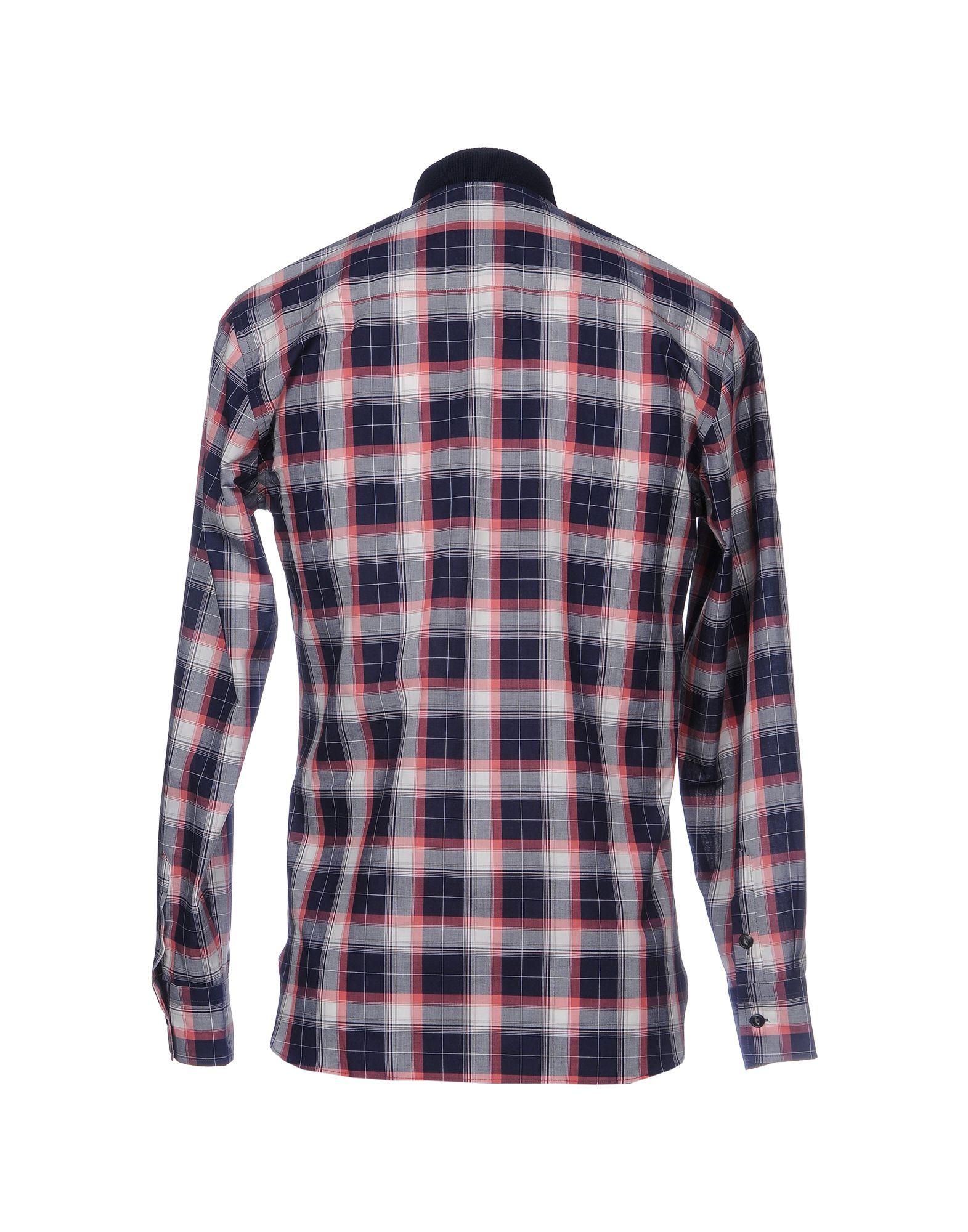 Camicia - A Quadri Maison Kitsun谷 Uomo - Camicia 38705653UG c679f1