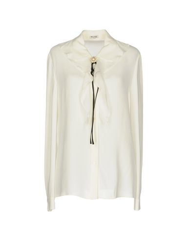Miu Miu Solid Color Shirts & Blouses   Shirts by Miu Miu